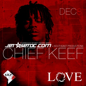Chief Keef live @ Love Sat. Dec 8th #alldaylife