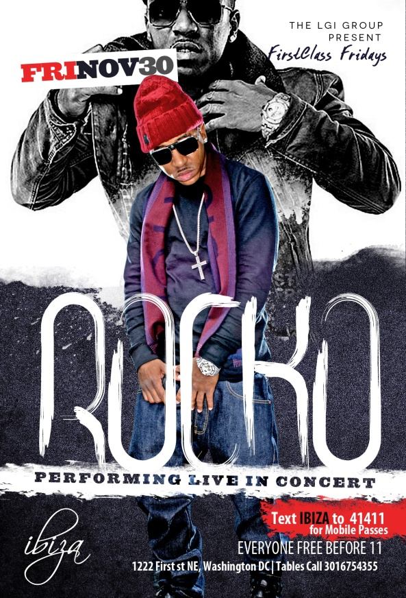 ROCKO performing live @ Ibiza this Fri. Nov. 30