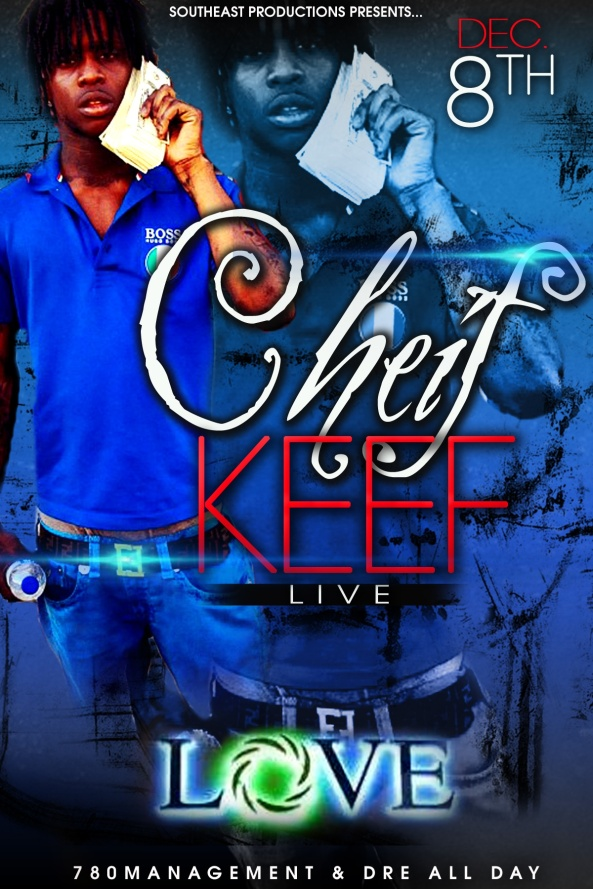 NOV 27 2012 Chief Keef live @ Love Sat. Dec 8th #alldaylife